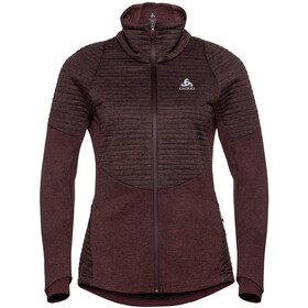 Odlo Millenium S-Thermic Pro Chaqueta Mujer, decadent chocolate melange